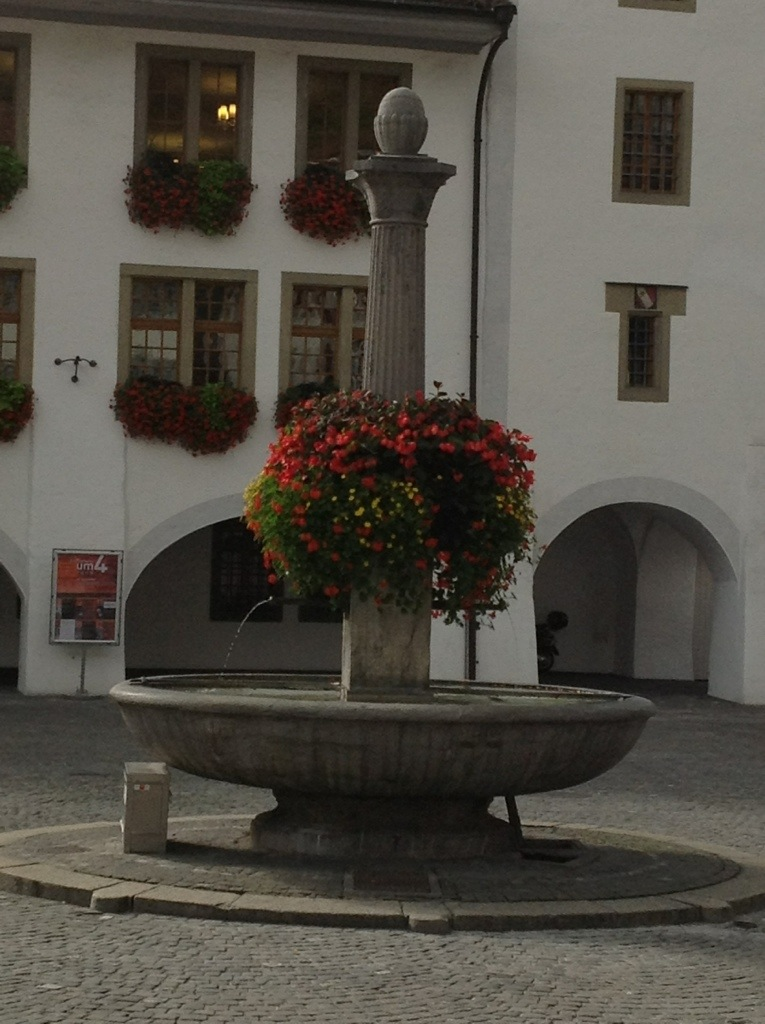 Fountain in Thun, Switzerland